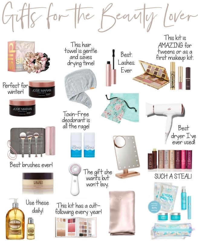 Beauty gifts for holiday shopping Iconic Style Inc