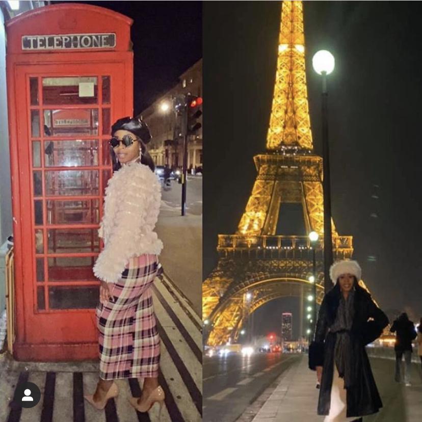 Paris and London Fashion