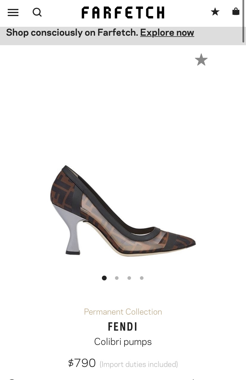 Fendi Colibri Pumps - Iconic Style Inc