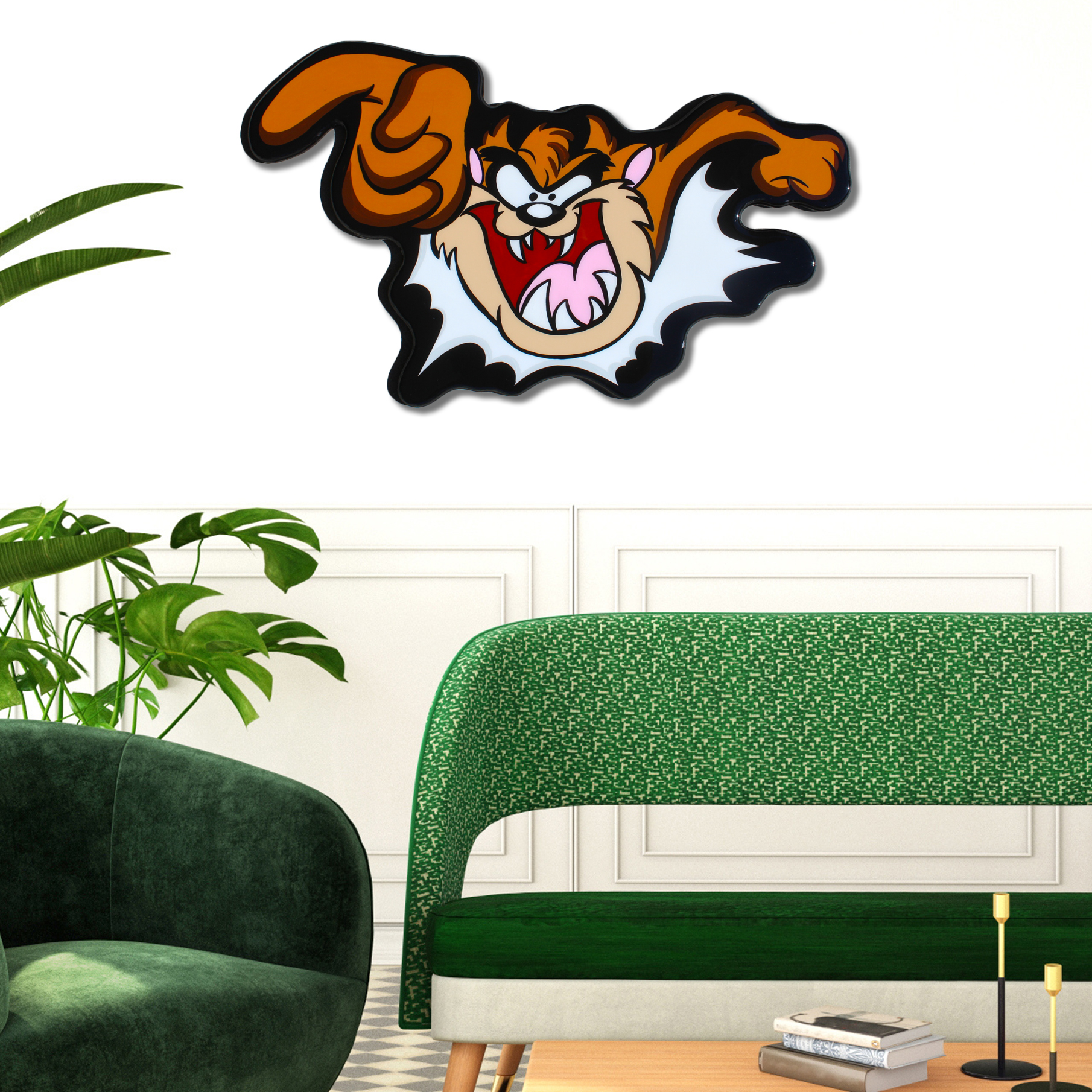 Tasmanian Devil Interactive Wall Art