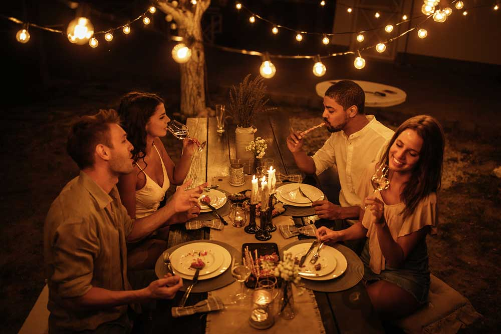 Couples' Dinner Al Fresco