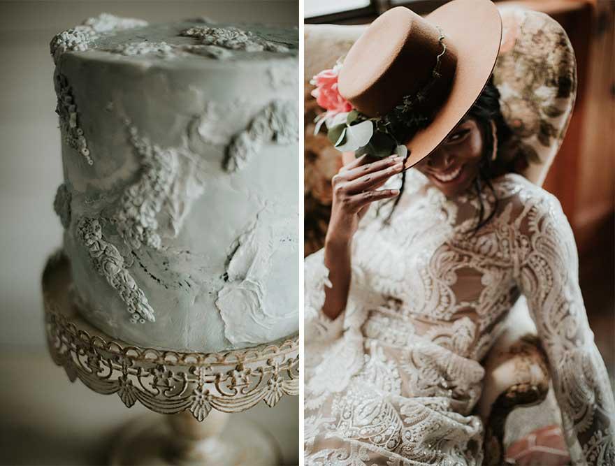 elegant vintage wedding theme