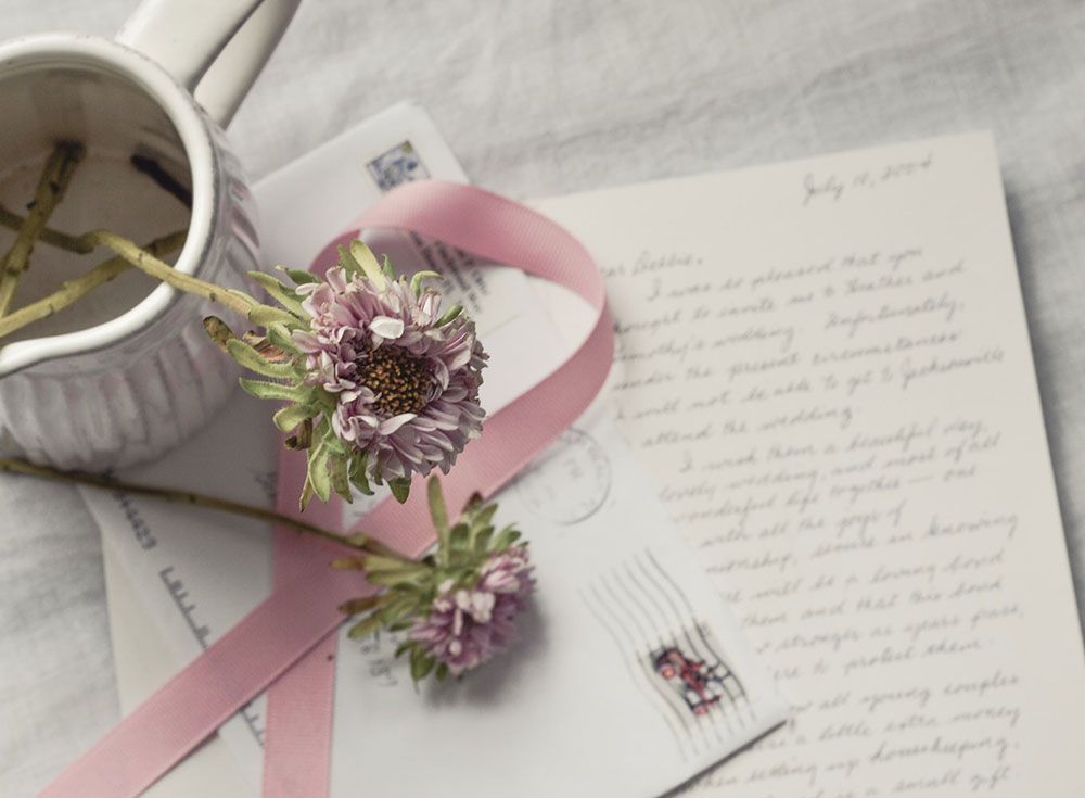 Write a Love Letter Gift Idea