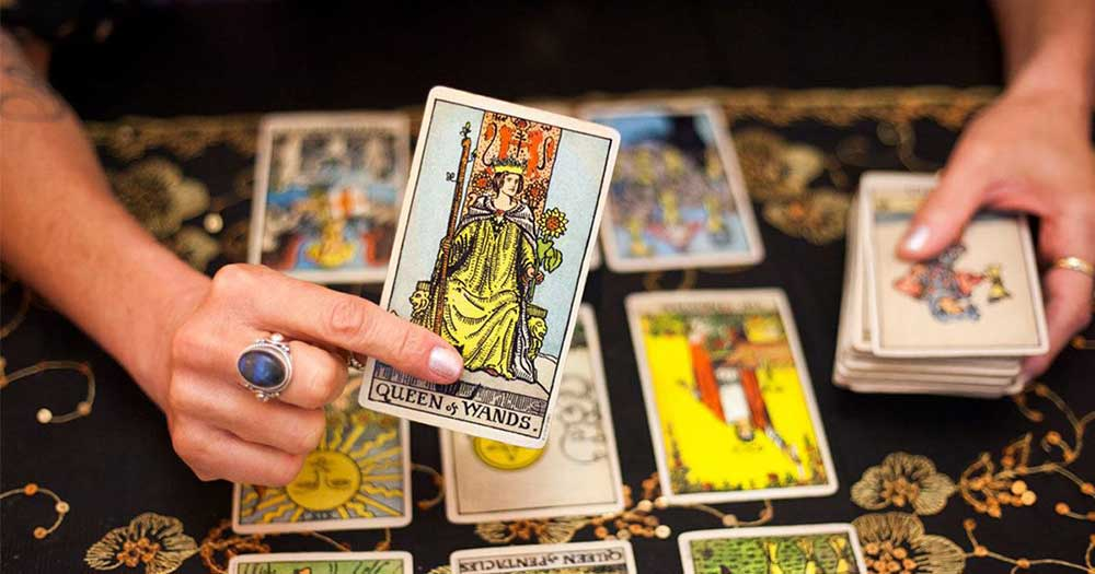 Tarot Reading at Wedding