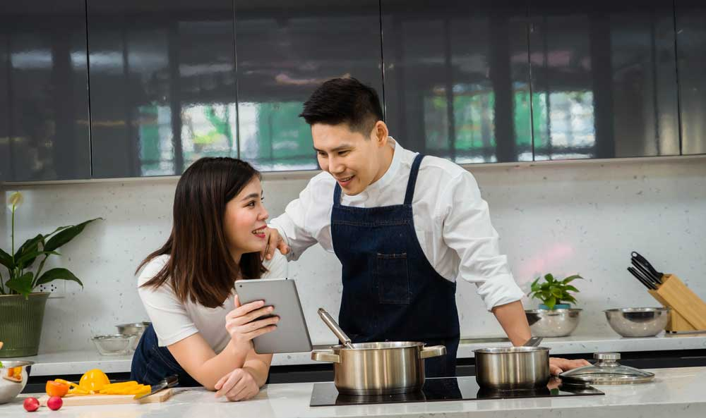 Online Couple's Cooking Class