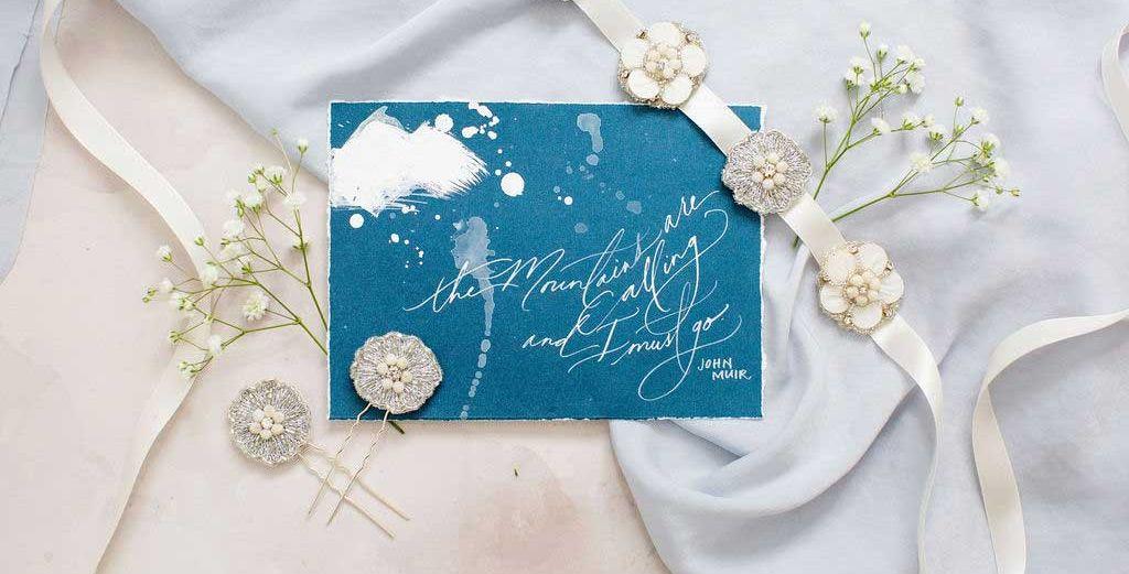 Mauve et Blush Bridal Adornments