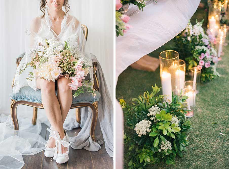 romantic floral wedding theme