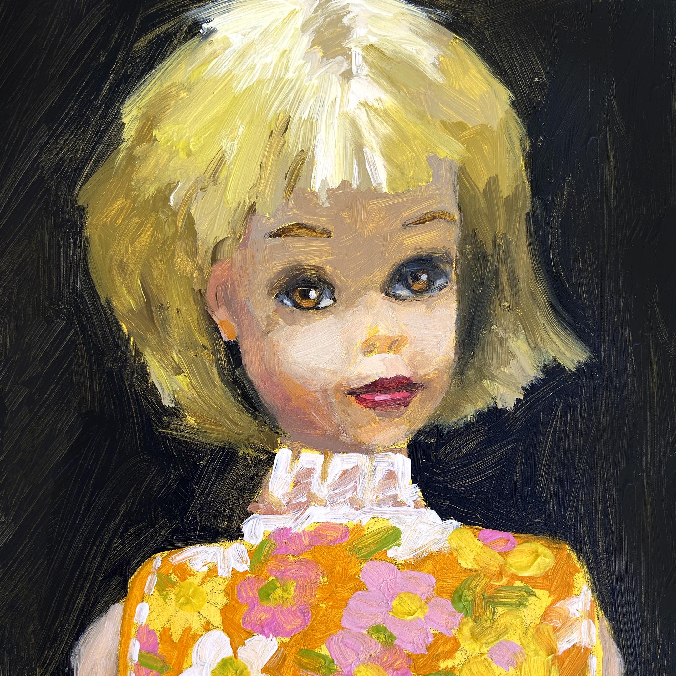 Vintage Francie Barbie Doll by Jenny Berry Artist