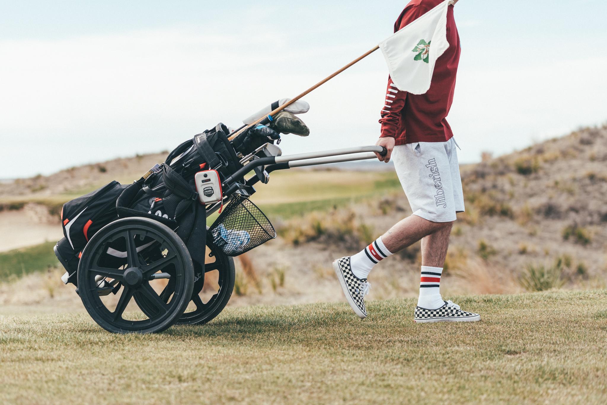 Olympic '76 Long Sleeve, Hometown Fleece Shorts, Crown Tube Socks