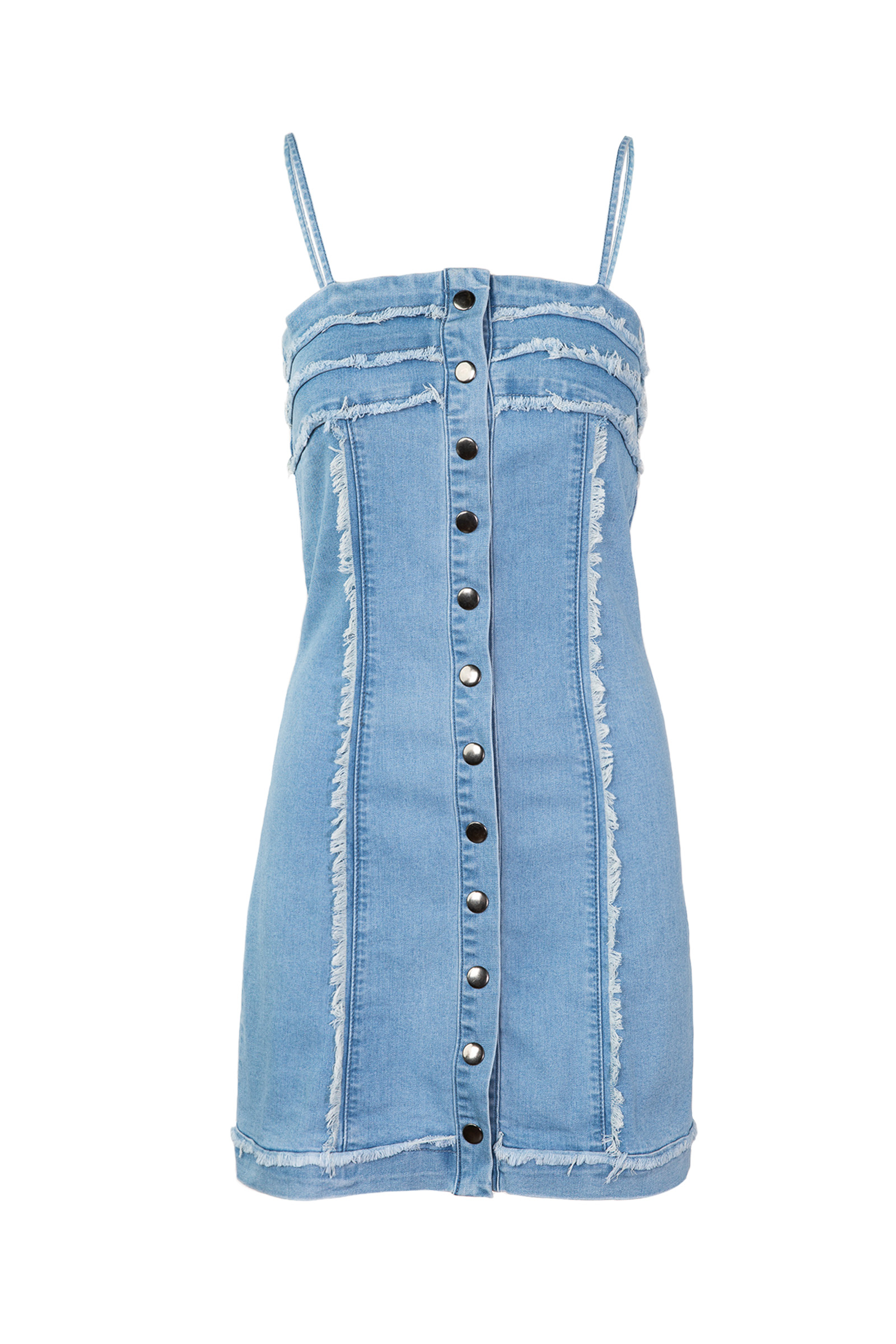 Britney in Denim Dress by J.ING LA women's fashion clothing