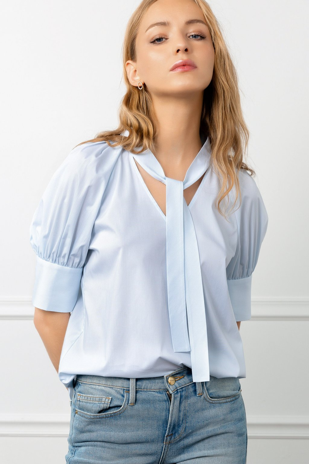 Elliott Blue Blouse by J.ING LA women's fashion