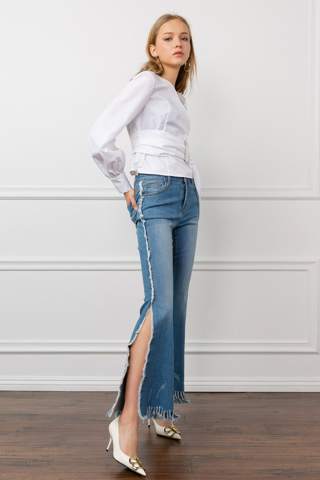 Mitchie Denim Pants by J.ING