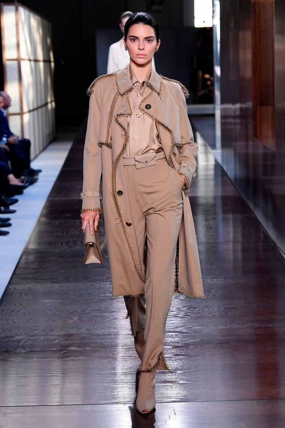 Utility inspired clothing Kendall Jenner runway