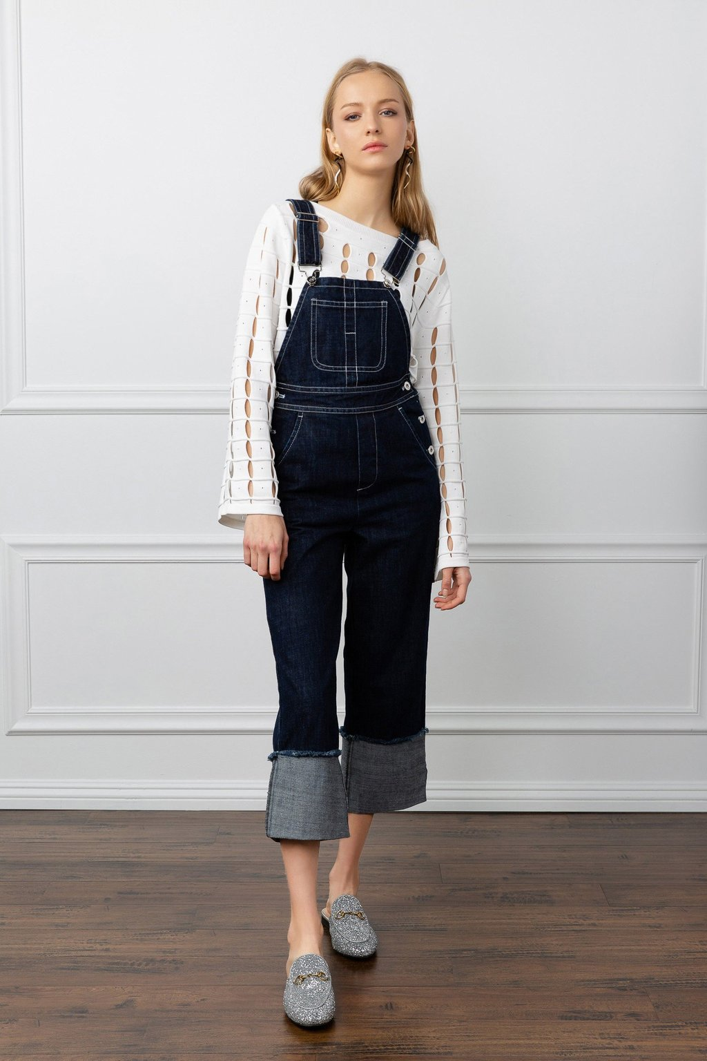 Conley Denim Overalls by J.ING