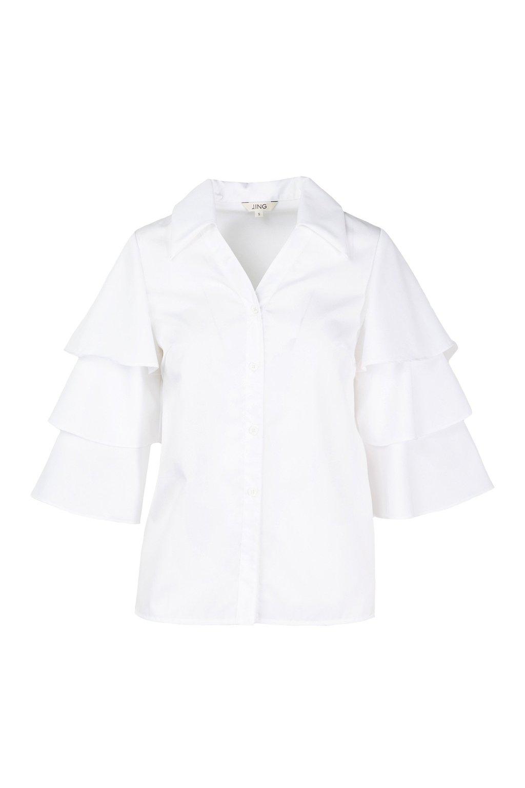 Tiered Lana Blouse by J.ING women's clothing