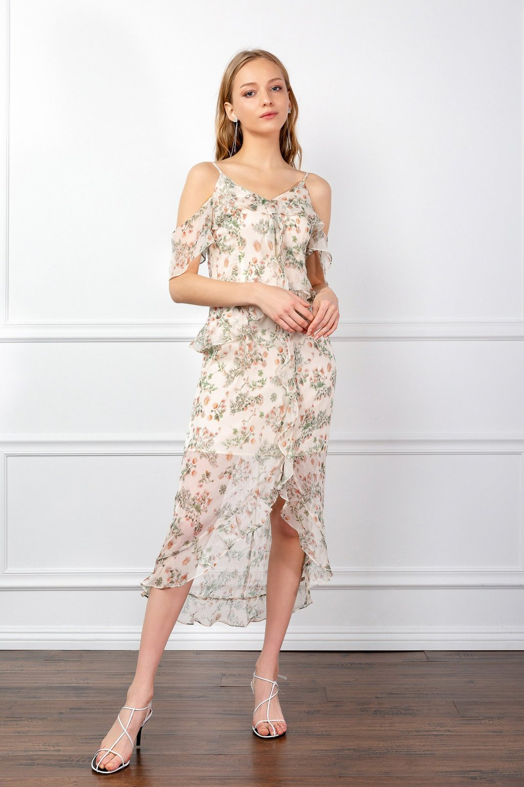 Hazel Floral Dress by J.ING women's fashion clothing