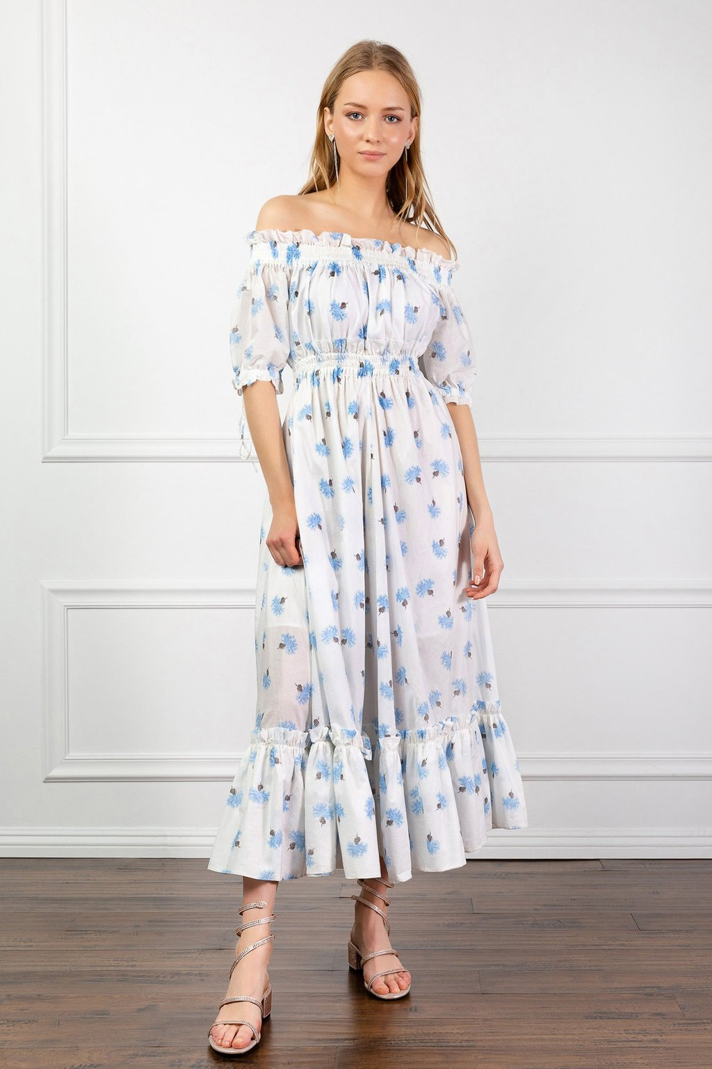 Floral Phoebe Dress by J.ING