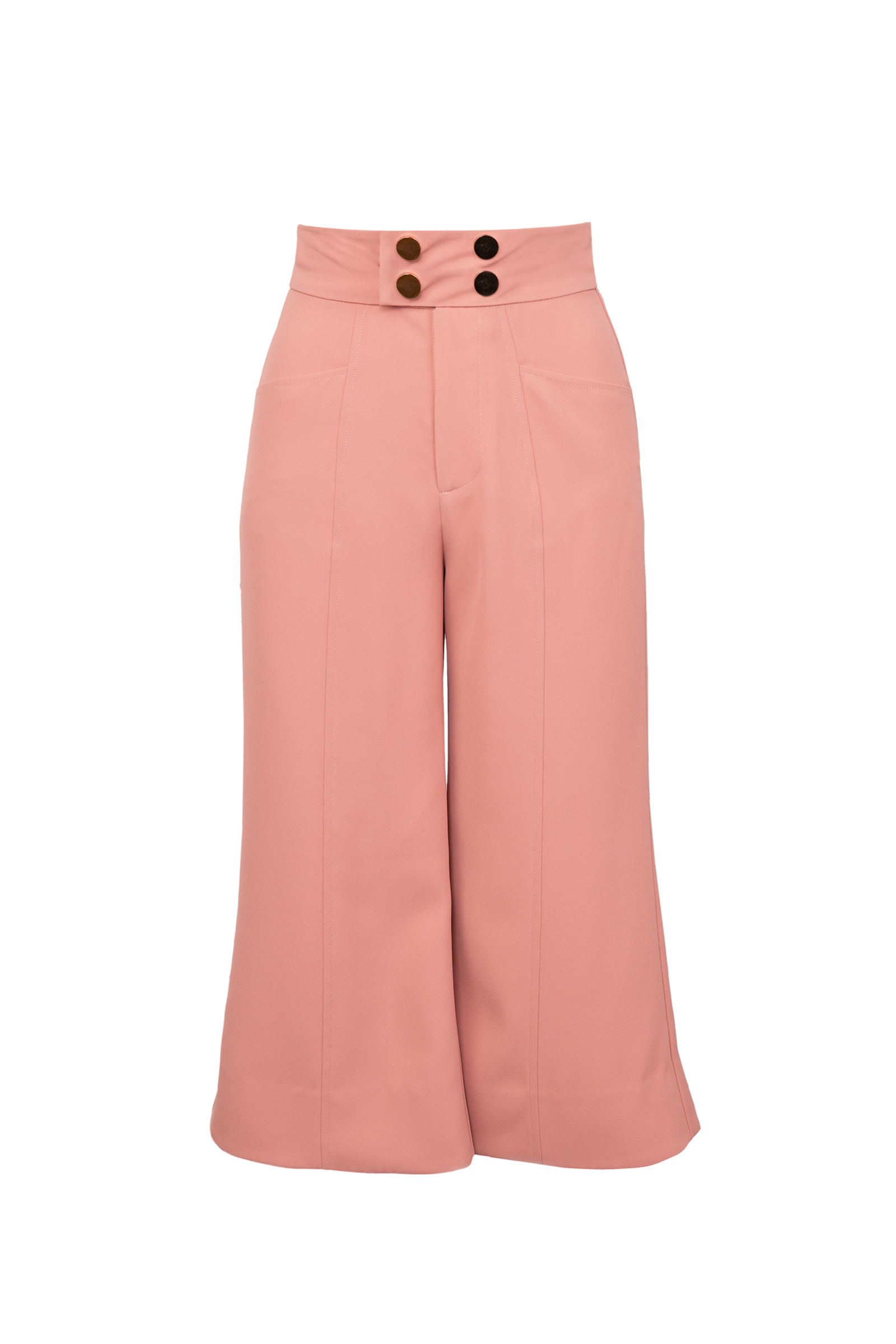 Coral Cropped Pants by J.ING LA Fashion clothing for women