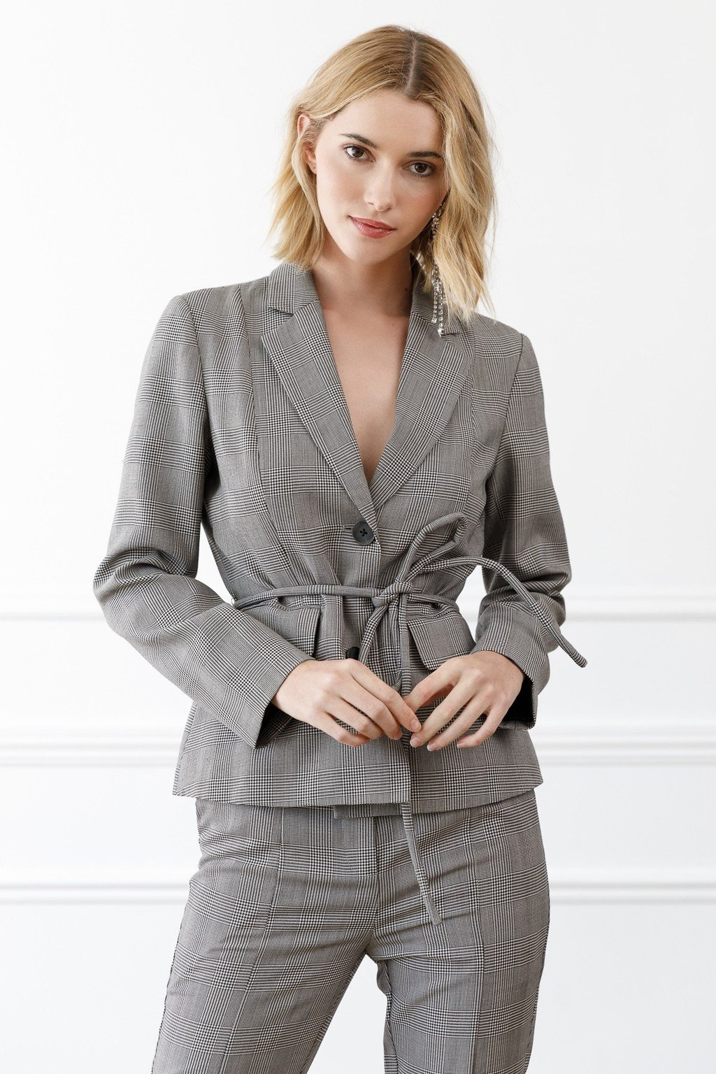 Kaylee Blazer suit Co-ord Set for women by J.ING women's fashion clothing