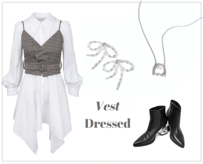 The Vest Dressed Outfit
