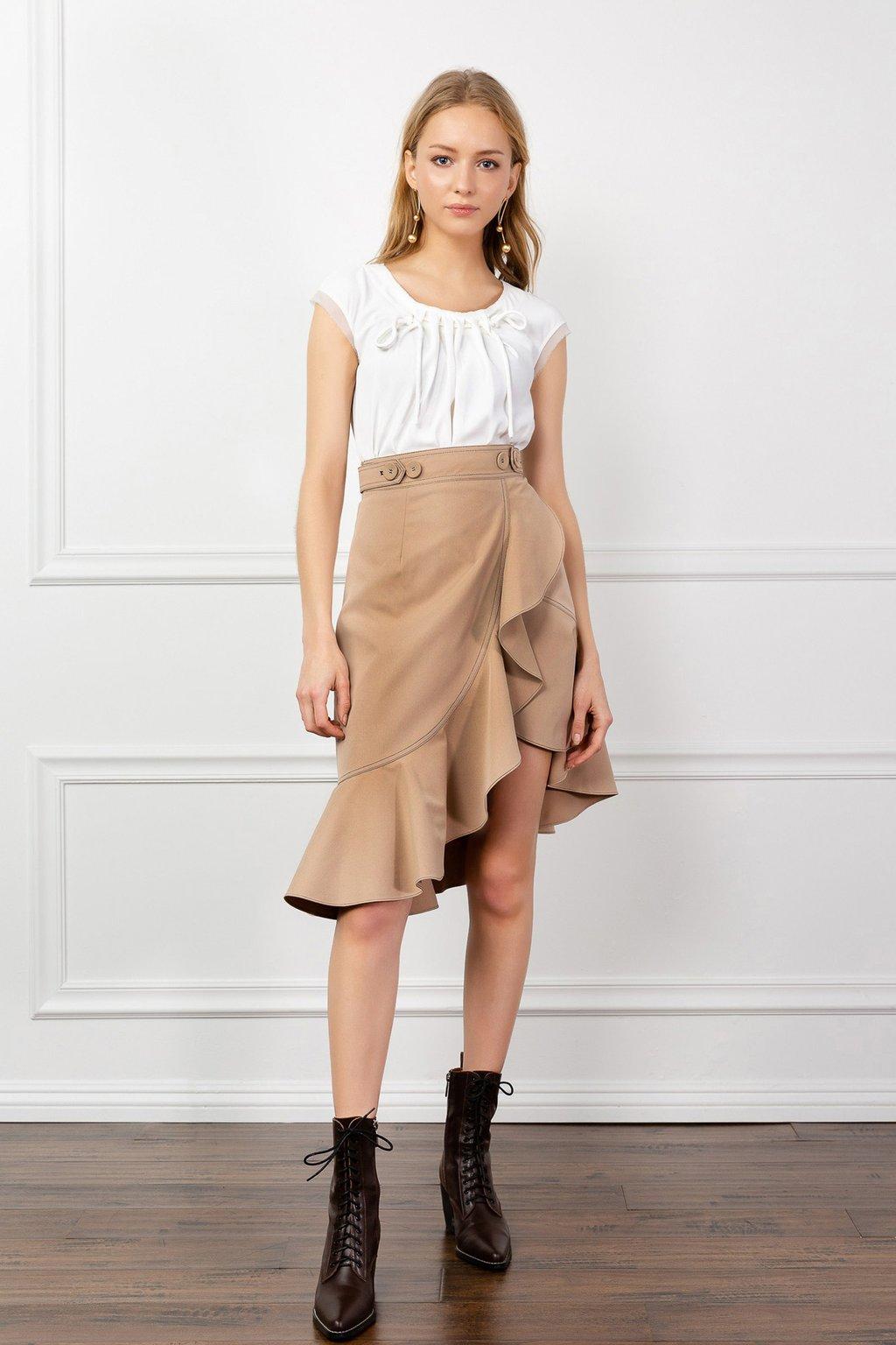 Montana Midi Skirt by J.ING women's fashion clothing