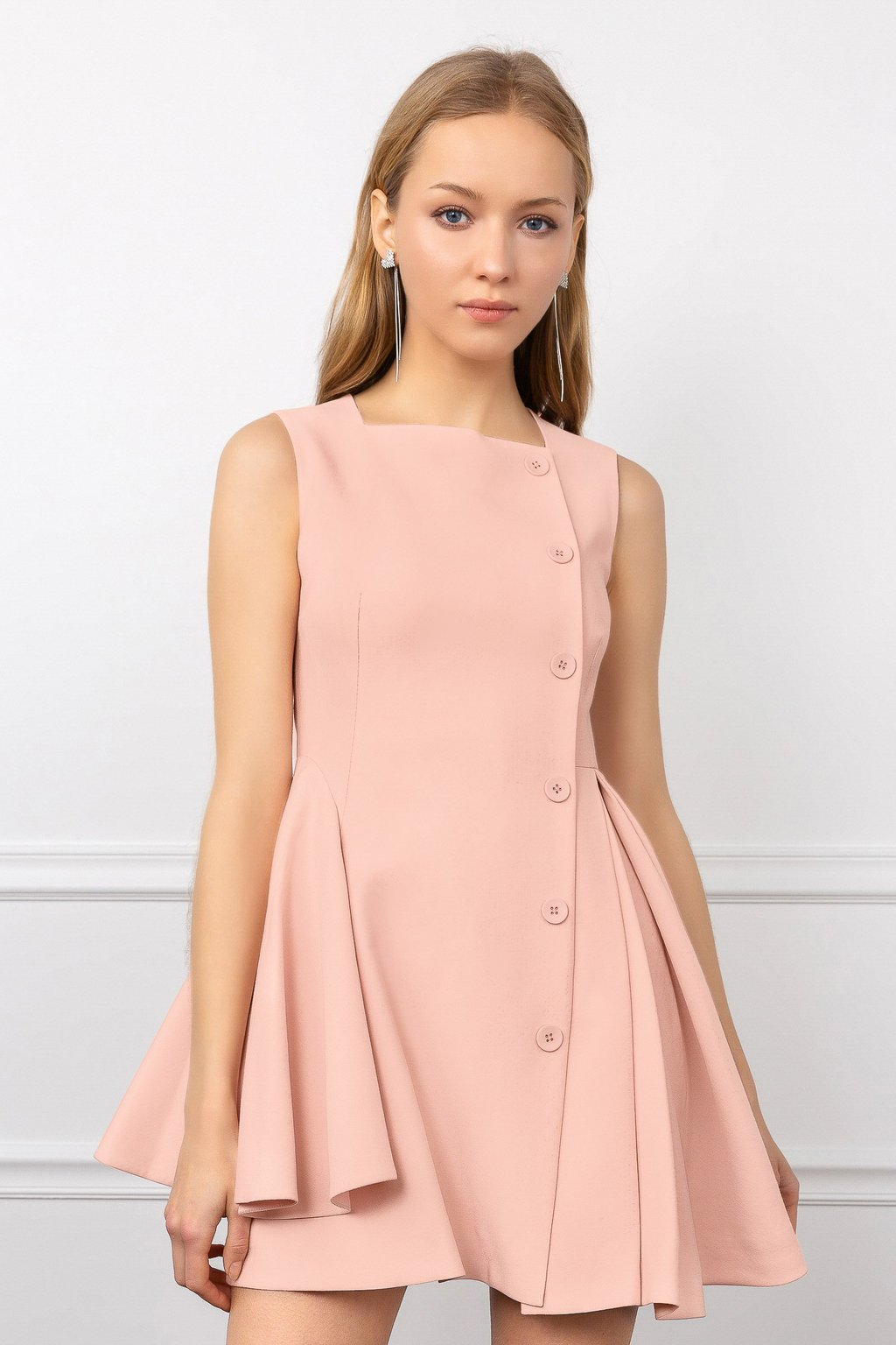 Pink Didi Day Party Dress by J.ING women's fashion