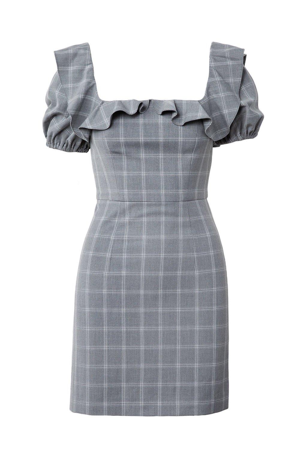 Petunia Plaid Dress by J.ING women's clothing
