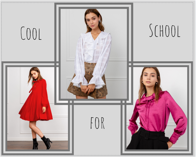 Latest Back To School Styles J Ing