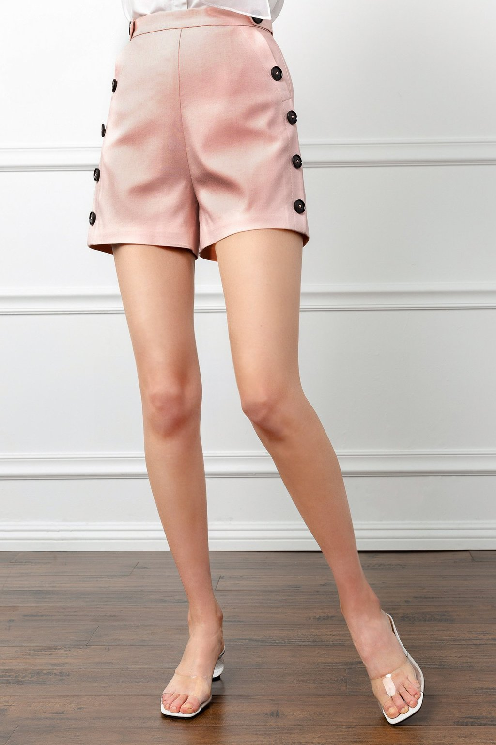 Silky Color Colored Shorts by J.ING women's fashion clothing