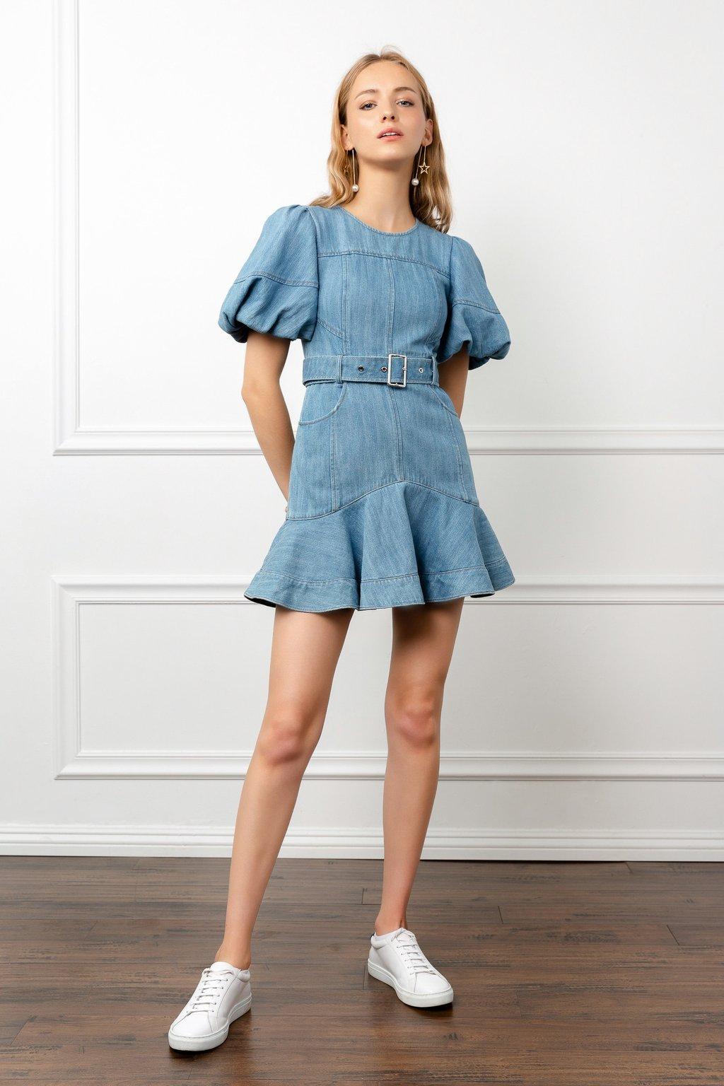 Denim Dolly Dress by J.ING LA women's fashion