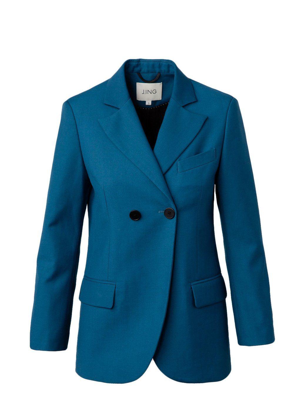 Josie Blazer in turquoise by j.ing women's clothing