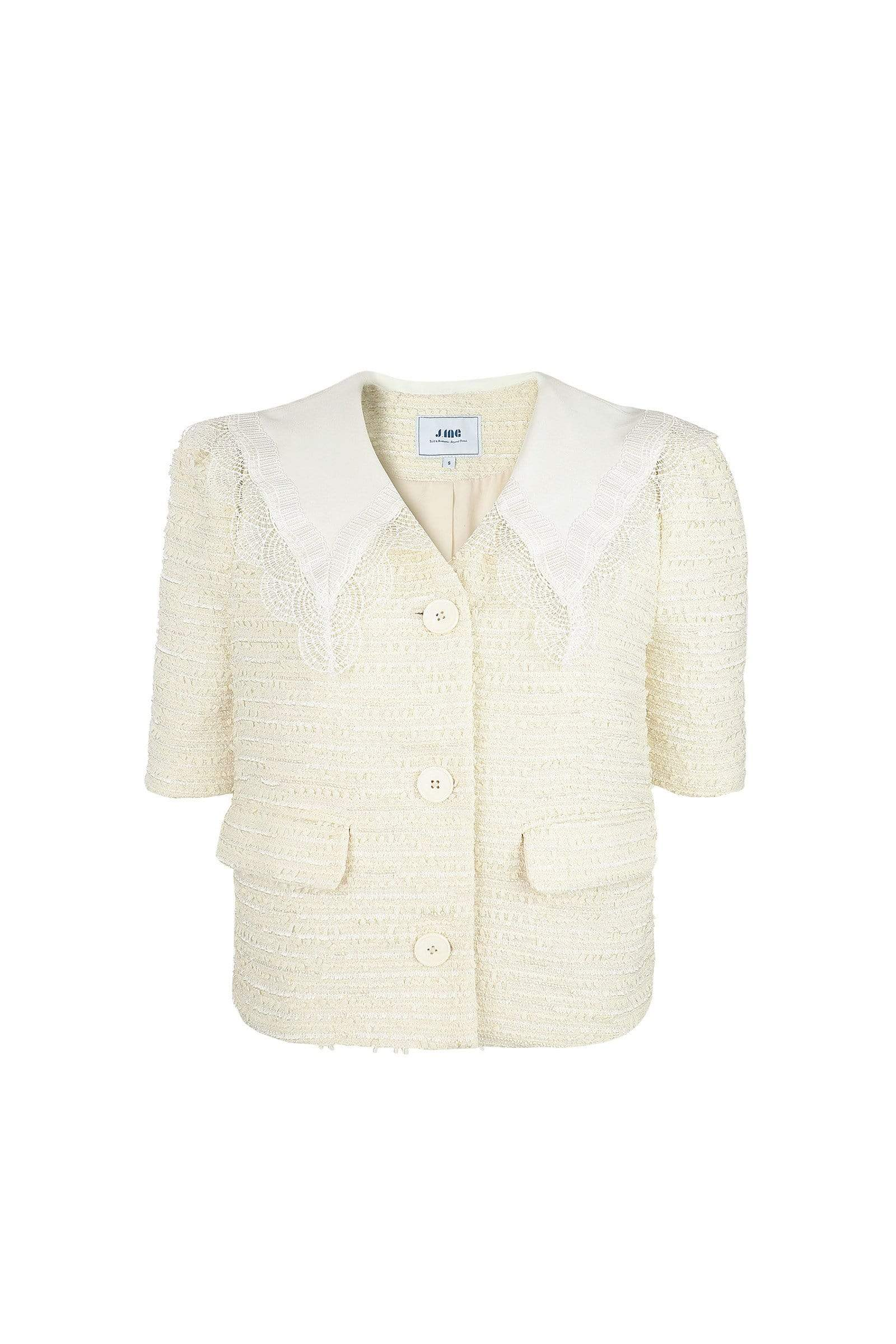 Dorian Green Quilted Down Coat for women by J.ING