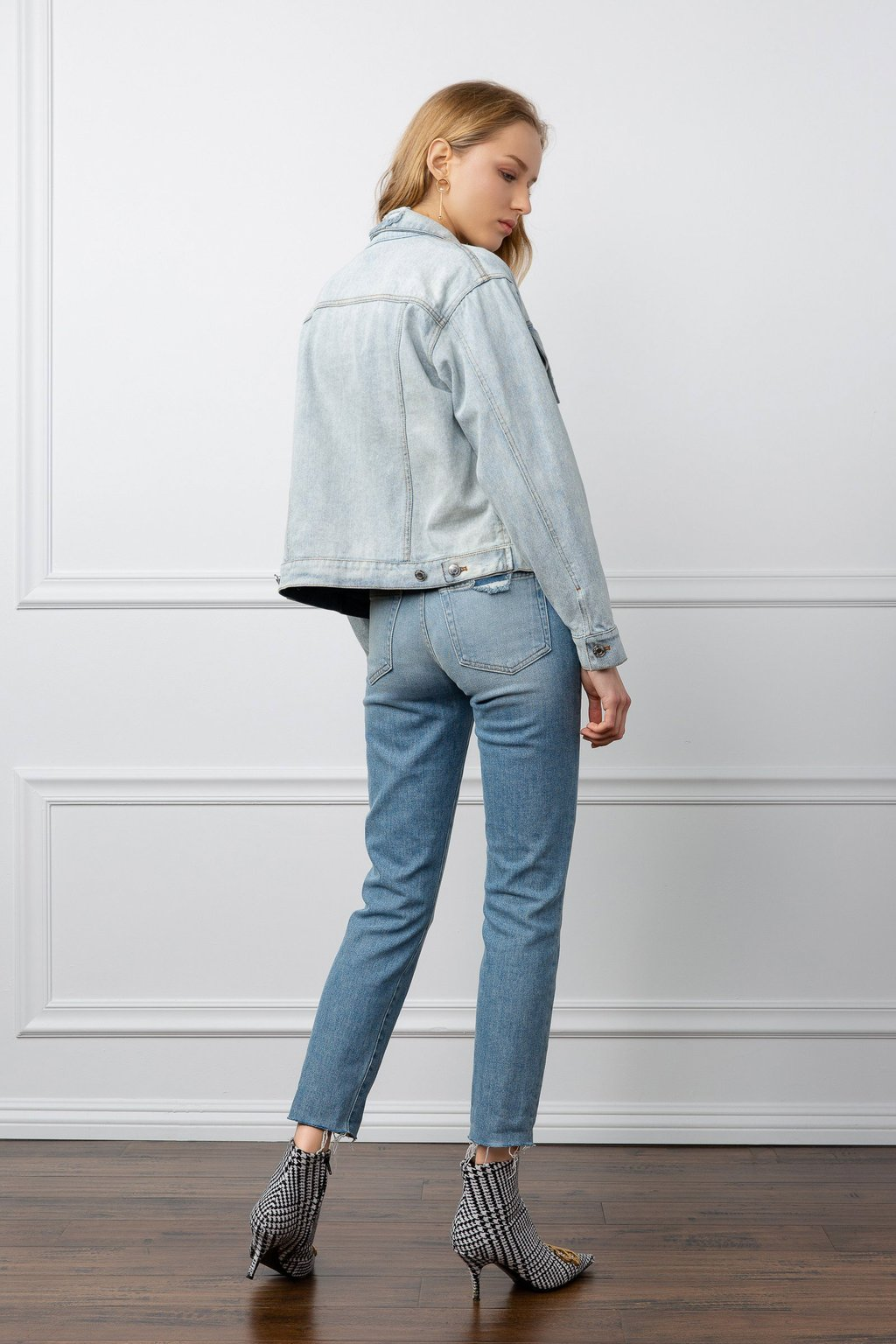 True Denim Jacket by J.ING women's fashion clothing