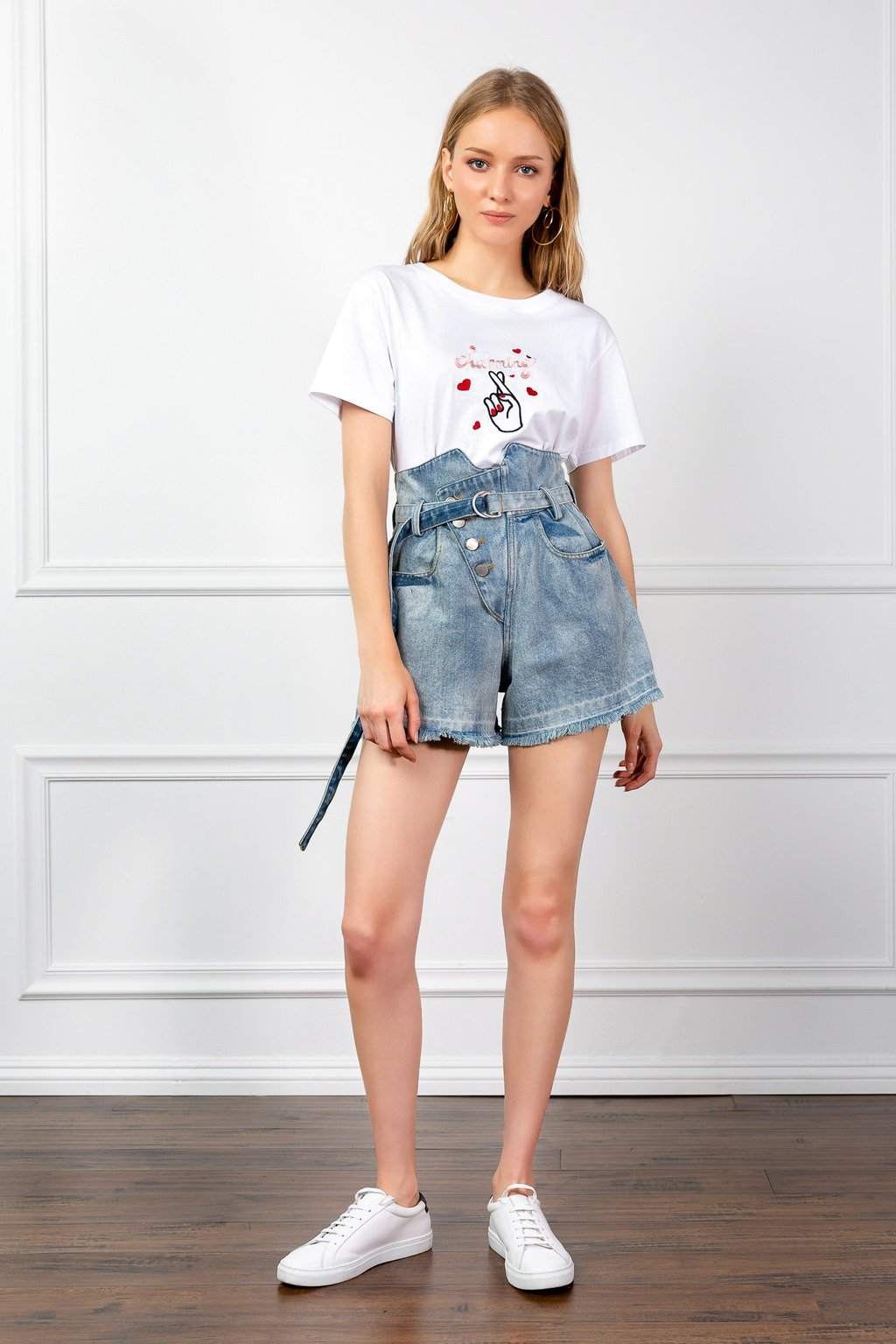 Bettie Denim Shorts by J.ING
