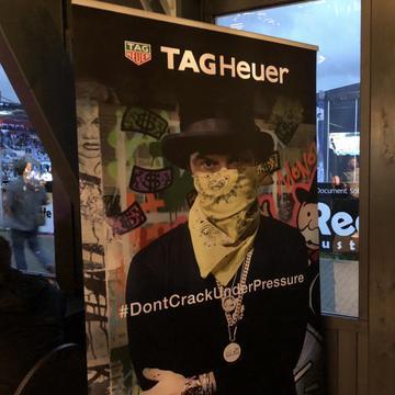 Eine Nacht in Mönchengladbach Juwelier Krebber und TAG Heuer Event