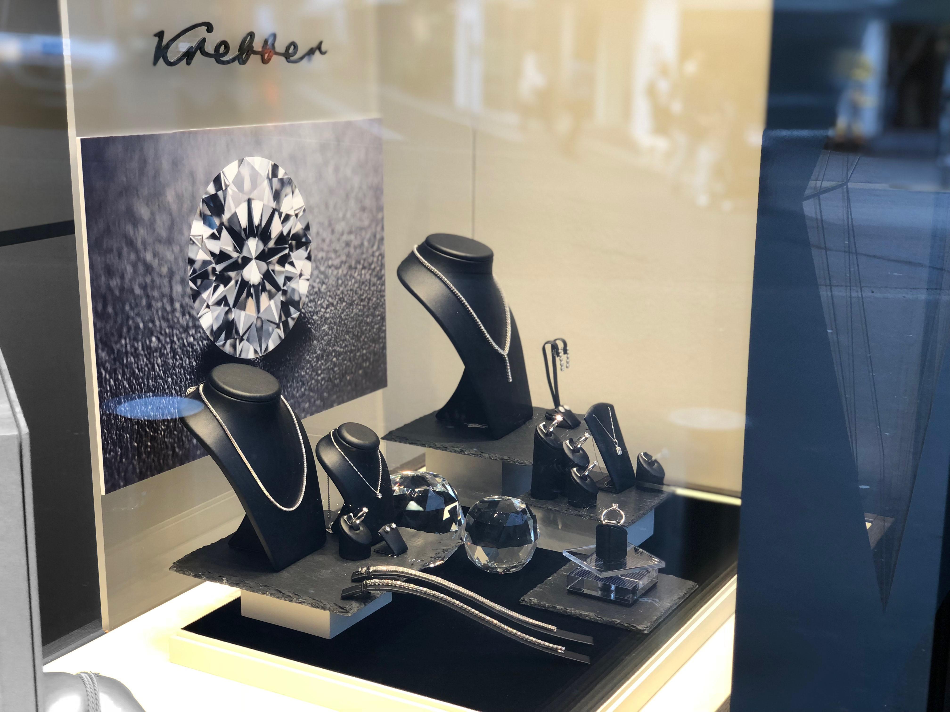 Juwelier Krebber Jubiläumskollektion Brillantschmuck Mönchengladbach