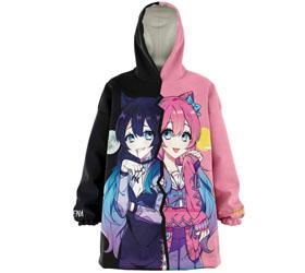 vampire Anime girl hoodie