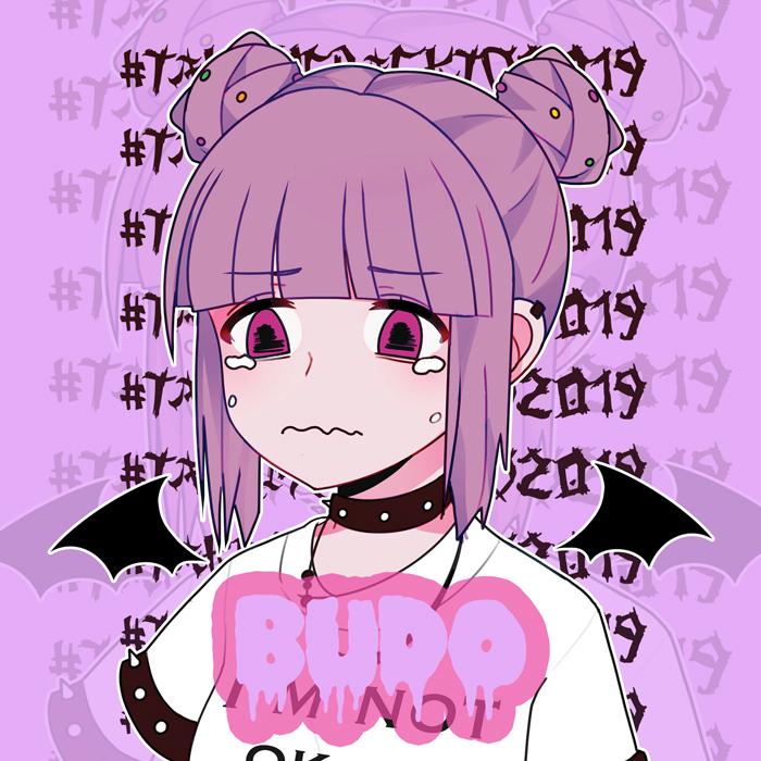 Budo the sad anime girl