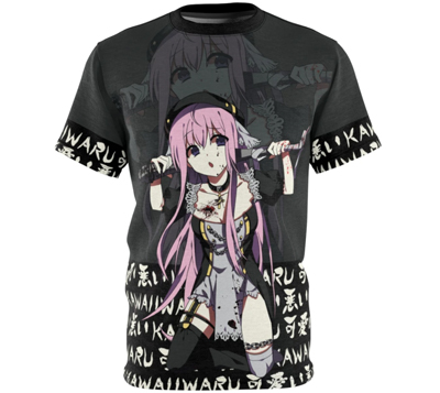 anime girl nun t-shirt shirt tshirt