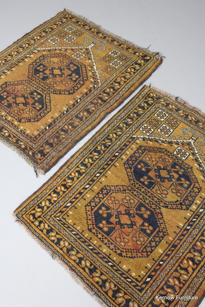 Pair Afghan Prayer Rugs