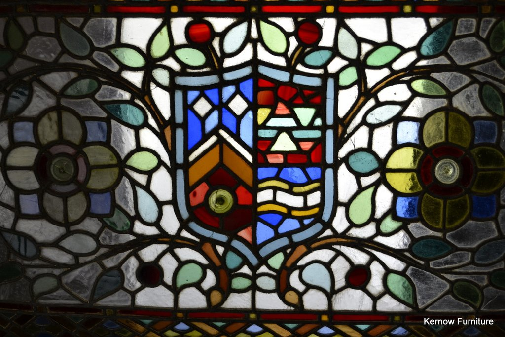 Leaded Glass Panel