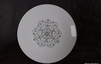 Royal Worcester Bridal Lace Plate