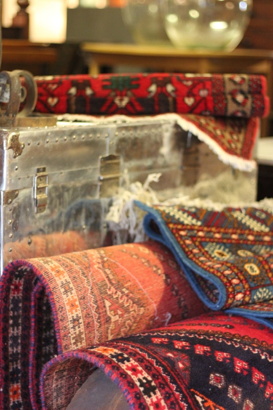 Antique Rugs and Soft Furnishings