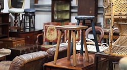 Antiques warehouse in Cornwall