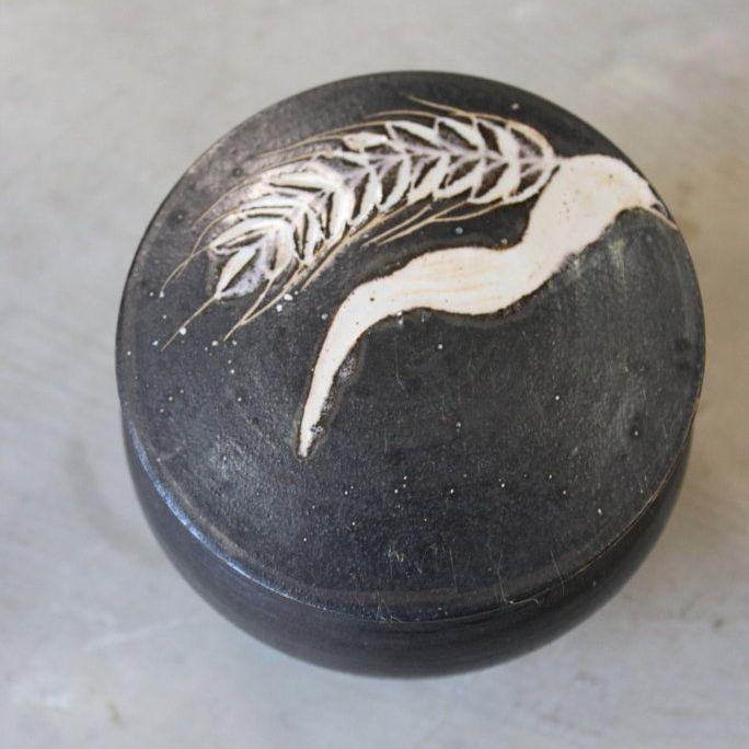 Marazion Studio Pottery Lidded Pot