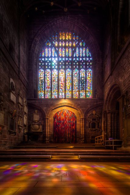 Chester Cathedral - Stained Glass by Michael Semple on Pinterest