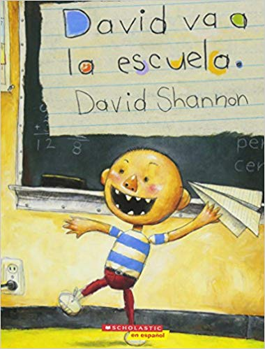 David va a la escuela (David Books) (Spanish Edition)
