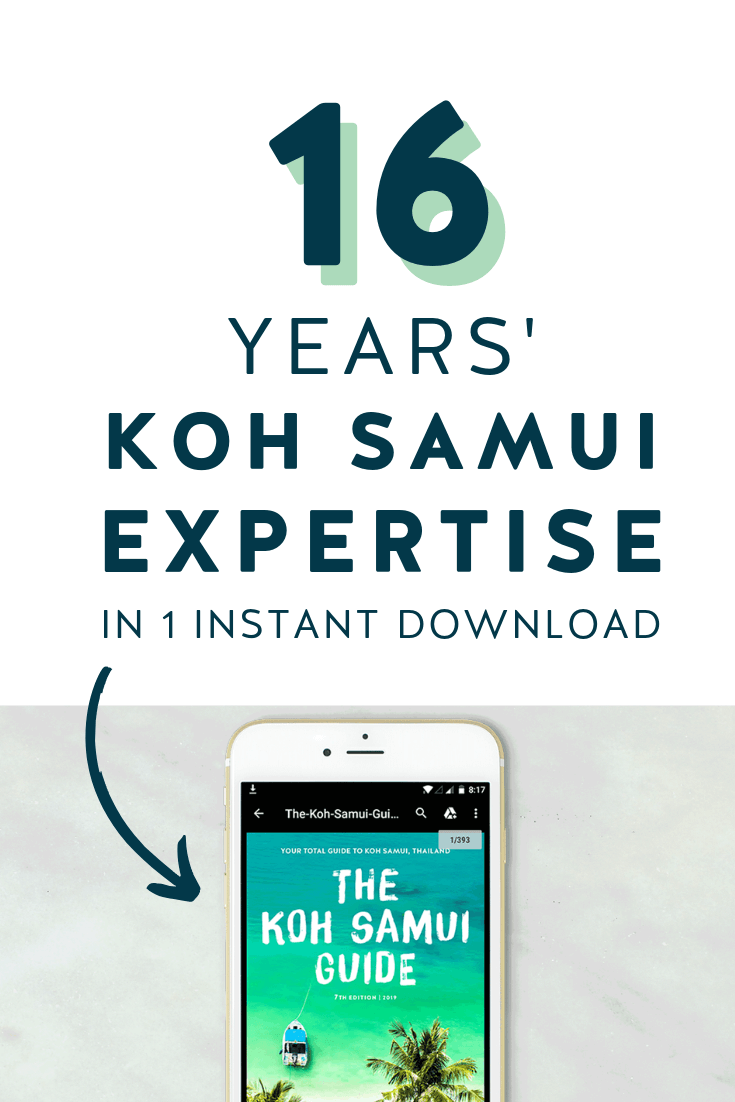 The Koh Samui Guide 2019