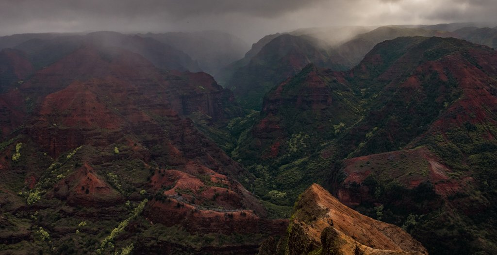 Waimea Canyon Kauai - LAND5CAPE