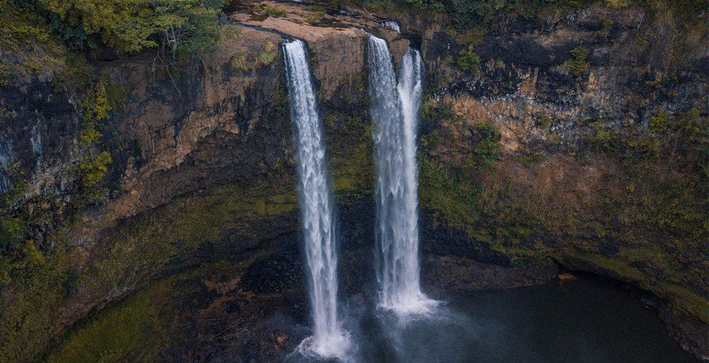 Wailua Falls Kauai - LAND5CAPE